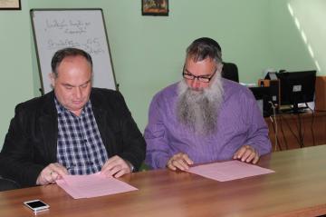 10 мая Черкесский (Адыгский) культурный центр в Тбилиси посетил Авраам Шмулевич