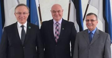 Черкесы провели в Эстонии консультации с депутатами по геноциду их предков Россией