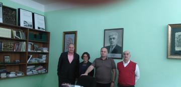 Сегодня в ЧКЦ состоялась встреча с представителями Политического центра Анкары