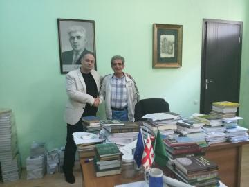Языковед лазского происхождения посетил Черкесский Культурный Центр