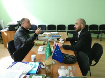 ЧКЦ посетил черкесский общественник из Черкесии