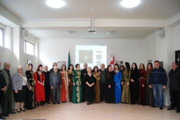 В ЧКЦ состоялась презентация коллекции одежды черкесского дизайнера Людмилы Ардан