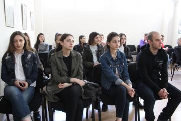 Встреча представителей Молодежного Парламента с ЧКЦ