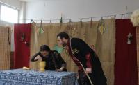 В ЧКЦ состоялось театрализованное представление, знакомящее с традиционным Новым Годом у грузин