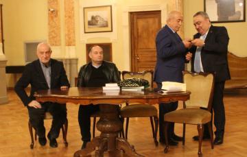 В Тбилиси чествовали черкесского художника-графика и писателя Теучежа Ката