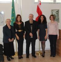 Черкесский Культурный Центр посетила черкесский модельер из Адыгеи