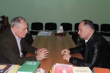 Черкесский Культурный Центр посетил грузинский посол в Швеции