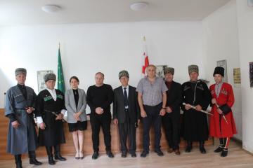 Черкесская делегация из Кабарды посетила ЧКЦ