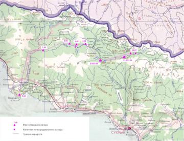 Река Бзыбь - историческая граница между Черкесией и Абхазией