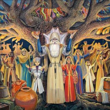 Боги древних адыгов (часть-1)