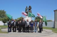 21 мая в Анаклии прошла церемония возложения венков к Мемориалу памяти жертв геноцида черкесского народа