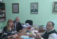 20 апреля в ЧКЦ состоялась встреча между директором центра и профессором университета Мальмё Кариной Вамлинг